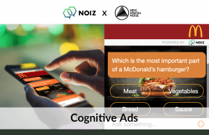 Cognitive Ad & User Experience