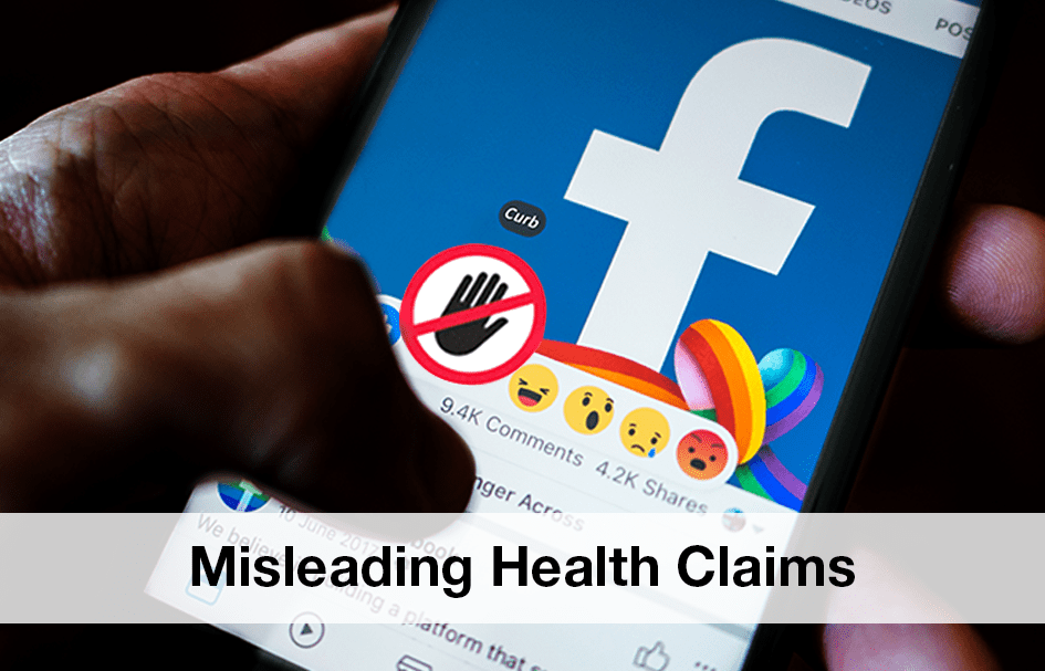 Facebook Curbing Sensational Health Claims